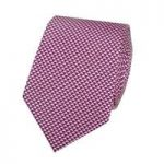Men's Magenta Small Triangles Tie – 100% Silk