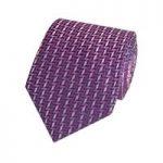Men's Pink Contrast Tiles Tie – 100% Silk